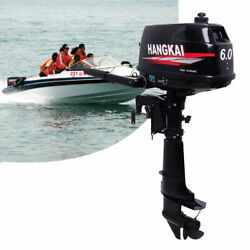 6hp Outboard 2 Stroke Outboard Engine Water Cooled Fishing Boat Engine Inflatabl