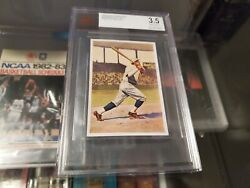 1932 Sanella Babe Ruth Vintage Bvg 3.5 Very Good Authentic Pre War The Goat 🐐