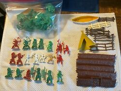 Marx Indians Mini Fort Trees Timmee Others Lot
