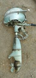 Parting Out Johnson Td20 Sea Horse 5hp Outboard Boat Motor
