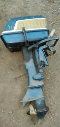 Parting Out Evinrude Johnson 5.5hp Fisherman 5518 Outboard Boat Motor
