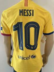 Jersey Barcelona 2019-2020 Away Champions League Messi Player Issue Kitroom S