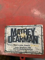 Mathey Dearman D235ss Stainless Steel Double Chain Clamp