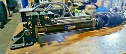 Seastar Power Steering Cylinder Hc5801-2 2 X 9 Stroke Used See Picand039s And In