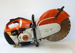 14 Stihl Ts420 Concrete Cut Off Saw With Wet Kit And Diamond Blade