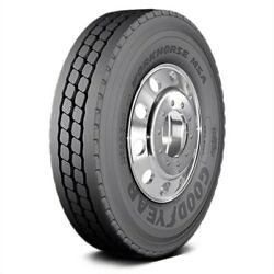 Goodyear Set Of 4 Tires 43x12r22.5 H Workhorse Msa All Season / Commercial Hd