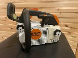 New Stihl 200t Chainsaw-never Used Never Fueled