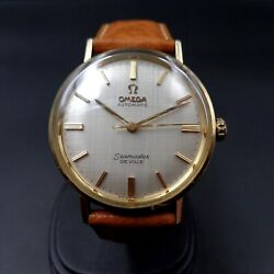 Omega Seamaster De Ville In 14k Yellow Gold With Cal 550 From 1966
