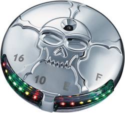 Brand New Zombie Led Fuel And Battery Gauge From Kuryakyn