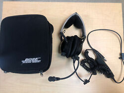 Bose X Aviation Headset Ahx-anr 308100-0210