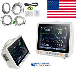 Medical Portable Medical Patient Monitor 6 Parameter Icu Ccu Heart Monitor Touch