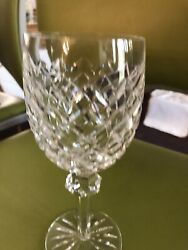 Waterford Crystal Powerscourt Water Glasses Set Of 13 W/case Glasses
