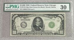 1000 1928 Federal Reserve Note Chicago Fr2210