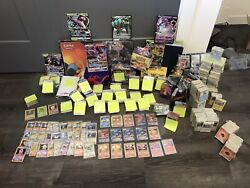 Pokandeacutemon-trading Card Lot - Entire Personal Collection Ultra Rare And Charizards