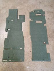 M1151 M1152 M1165 M1167 Front Floor Insulation Right And Left Green