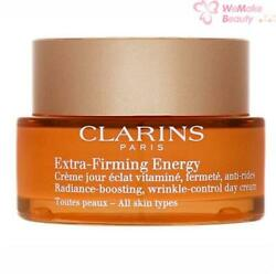 Clarins Extra Firming Energy Wrinkle Control Day Cream 1.7oz / 50ml New In Box