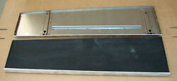 1930 1931 Model A Ford Car Running Boards Rubber And Stainless Trim Coupe Sedan