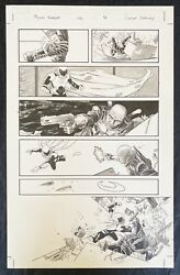 Moon Knight Original Art Page - Vol 7 Issue 2 Pg 16 Signed By Declan Shalvey