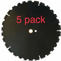 5pk 10 Fire Rescue Root Cutter Carbide Tipped Demolition Blade X .250