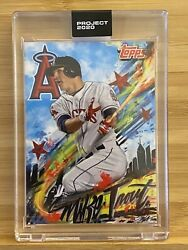 Rookie Of The Year Mike Trout Topps Project 2020 399 Mister Cartoon Rc Mt