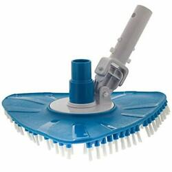 Flexible Triangular Pool Vacuum Head With Swivel Connection And Multi