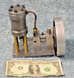 Machinist Made Vertical Live Steam Engine Model Look