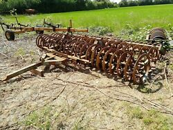 Homemade 4m Lemken Press Two Welded Together With Flexicoil