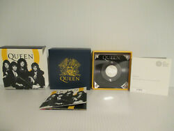 Queenmusic Legends Half Ounce Silver Proof Coin Coa Box Royal Mint 2020