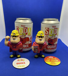 Quake Funko Soda Quaker Oats Cereal Ad Icons Chase And Common Bundle In Hand