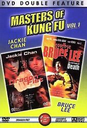 Masters Of Kung Fu, Vol. 1 Dragon Fist/goodbye Bruce Lee, New Dvd, ,