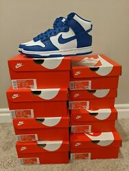 Nike Dunk High Game Royal - Size 4y 5y 7y 9.5 10 10.5 11 - New Ds