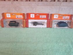 Roco Minitanks Lot Of 3 1/87 Scale Military Models Used 111 , 187 And 176