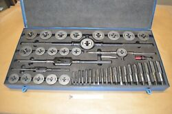 Large Gtd Trw Greenfield Little Giant Tap And Die Set No. 312 1/4 To 1
