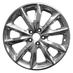 For Jeep Cherokee 14-16 Alloy Factory Wheel 5 Y-spoke Full Polished 18x7 Alloy