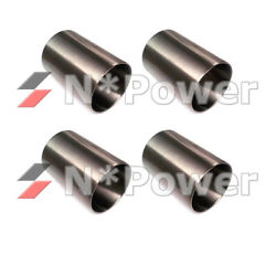 Parallel Piston Sleeve X4 For Ford 289 302 351 Windsor Cleveland 4.188x9.875