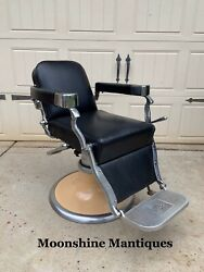 Vintage 1960andrsquos Koken Barber Chair
