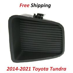 For 2014-2021 Toyota Tundra Fog Light Cover Right Side Textured Black To1039174