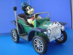 Tin Japanese Classic Car Old Mickey Mouse Disney