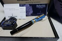 Delta Fountain Pen Nefertiti Nib F Completed Items With Box New From Japan
