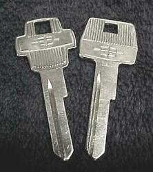 2 Nos Lincoln And Continental Logo Key Blanks 1964