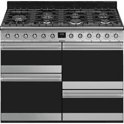 Smeg Syd4110-1 Symphony 110cm 7 Burners A/a Gas Range Cooker Stainless Steel