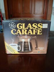 Vintage General Electric Glass Carafe Model 3351 Coffee 10 Cup New