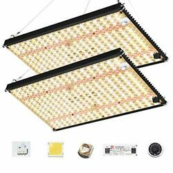 Updated Ef-2000 Led Grow Light Red Light Switch 4x4ft Full Spectrum Grow Lamp Fo