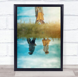 One Couple, Two Direction Vintage Retro Skirt Anonymous Reflection Art Print