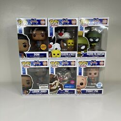 Funko Pop Movies Space Jam A New Legacy Exclusive/rare 6 Piece Lot