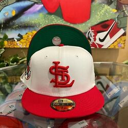 Two Tone St. Louis Cardinals Fitted Hat