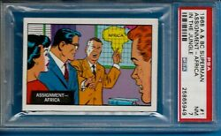 1968 A And Bc Superman In The Jungle 1 Assignment Africa Psa 7