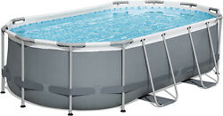 14and039 X 8and0392 X 39.5 Power Steel Above Ground Pool Set