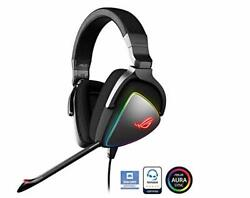 Asus Hi-res Ess Quad-dac Equipped With Pc, Mobile Games, Rgb Game Headset Rog De