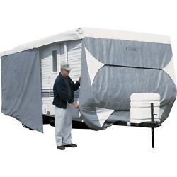 Over Drive Polypro3 Deluxe Travel Trailer Cover Or Toy Hauler Cover Fits 24andrsquo -